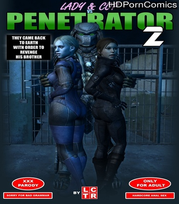 Porn Comics - Lady & Cop VS Penetrator 2