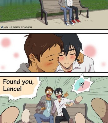 Porn Comics - Lance, Keith And The Bih Bo Bi