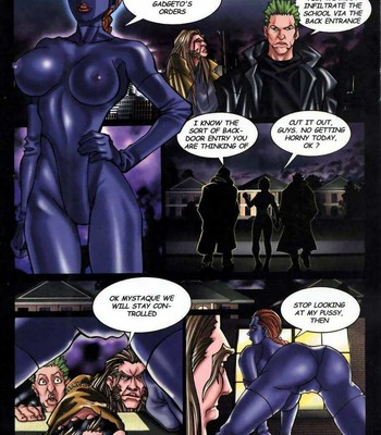 LateX-Men comic porn sex 005