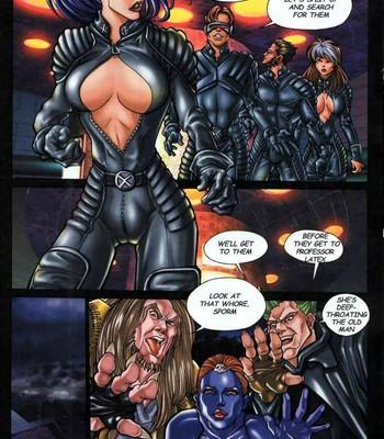 LateX-Men comic porn sex 007