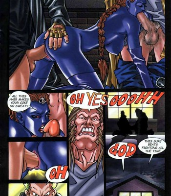LateX-Men comic porn sex 012