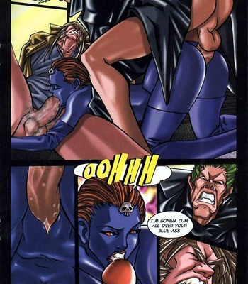 LateX-Men comic porn sex 014