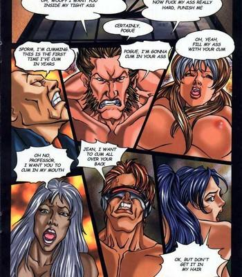 LateX-Men comic porn sex 018
