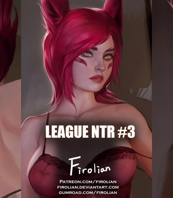 Porn Comics - League NTR 3 – Xayah
