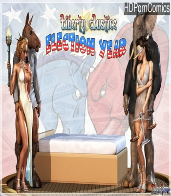 Porn Comics - Liberty Justice – Election Year