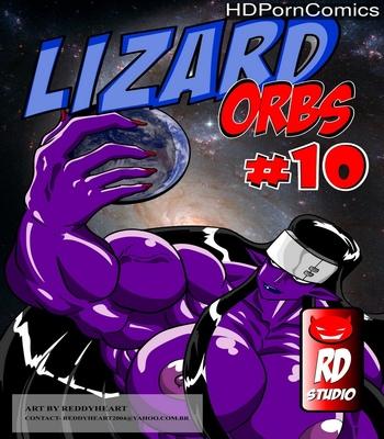Porn Comics - Lizard Orbs 10