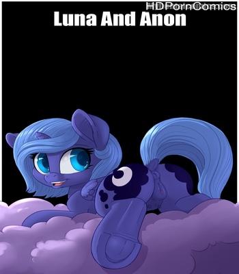 Porn Comics - Luna And Anon