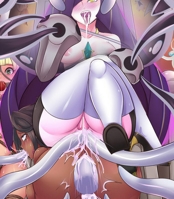 Lusamine's Prisoners – Pokemon Sun And Moon Bad Ending comic porn sex 005