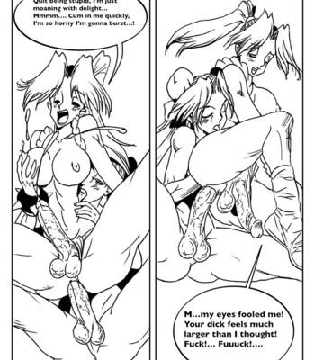 Mai Vs Chun-Li comic porn sex 020