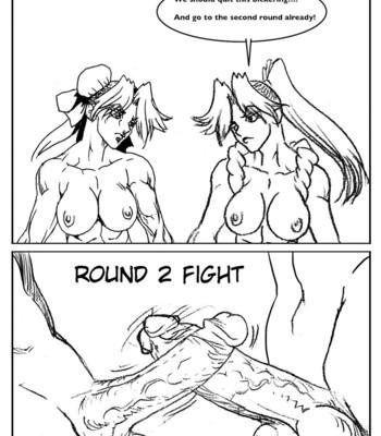 Mai Vs Chun-Li comic porn