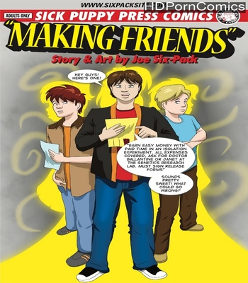 Porn Comics - Making Friends