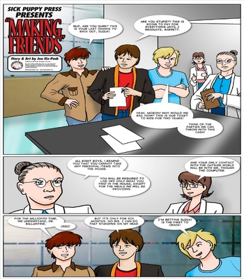 Making-Friends 2 free sex comic