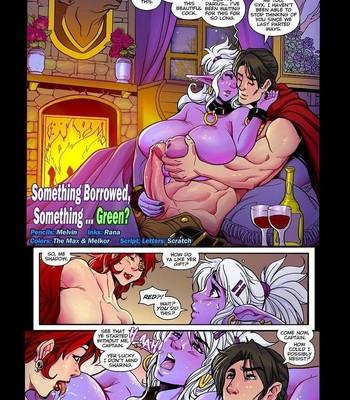 Porn Comics - Mana World 17 – Something Borrowed, Something Green
