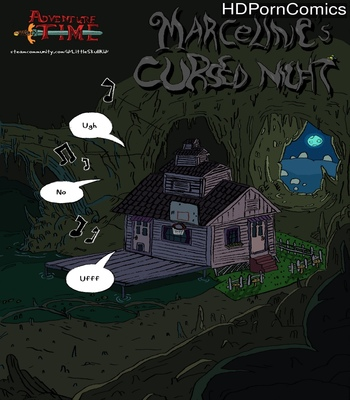 Porn Comics - Marceline's Cursed Night