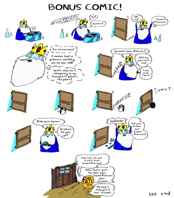 Marceline's Cursed Night comic porn
