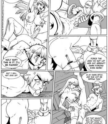 Mark Of The Wolves comic porn sex 005