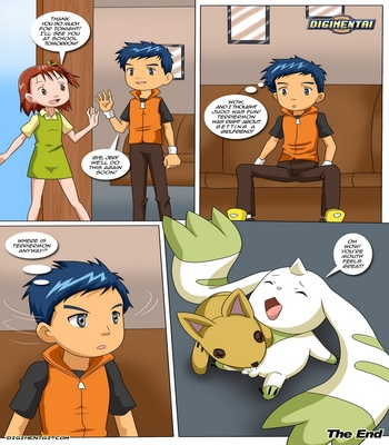 Matchmaker-Terriermon 17 free sex comic
