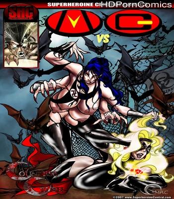 Porn Comics - Mega Girl VS Countess Crush