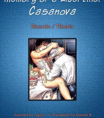 Porn Comics - Memory Of A Libertine – Casanova