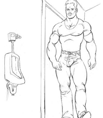 Porn Comics - Men's Room