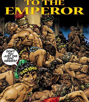 Porn Comics - Message To The Emporer