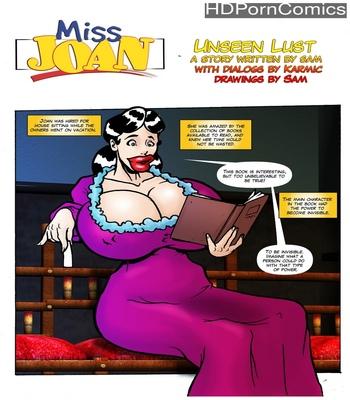 Miss Joan – Unseen Lust comic porn