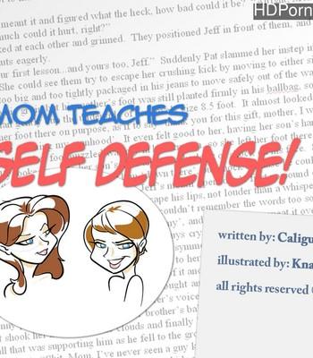 Porn Comics - Mom Teaches Self-Defense