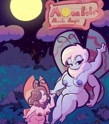 Porn Comics - Moonlight Moth Magic