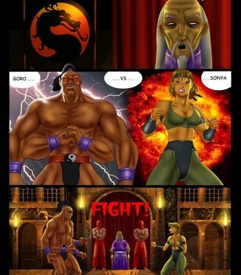 Porn Comics - Mortal Kombax
