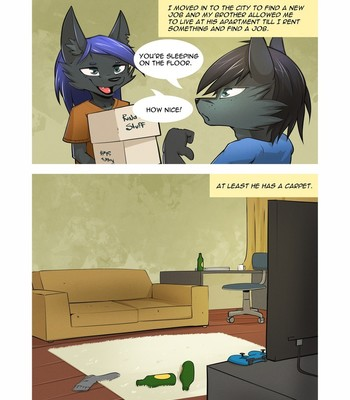Porn Comics - Moving In ( Chapter 1 )
