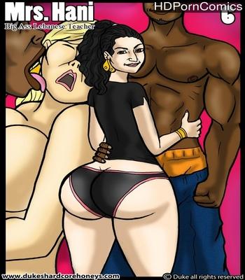 Porn Comics - Mrs Hani – Big Ass Lebanese Teacher 6
