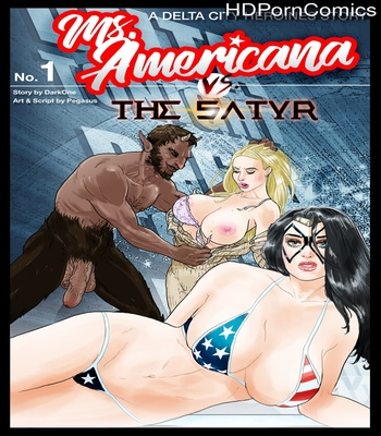 Porn Comics - Ms Americana VS The Satyr