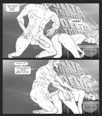 Ms-Americana-VS-The-Satyr 9 free sex comic