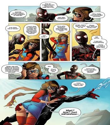 Ms Marvel Spider-Man 1 comic porn sex 005
