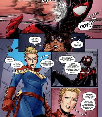 Ms Marvel – Spider-Man 2 comic porn sex 003