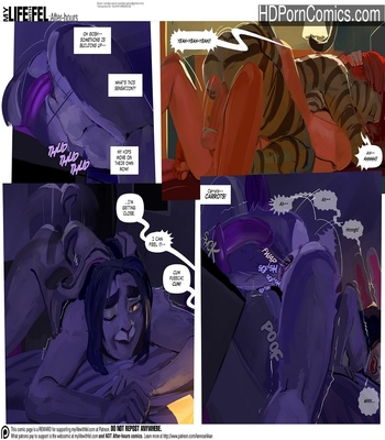 My Life With Fel – After-Hours 14 comic porn sex 011