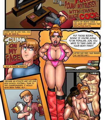 My Mom And Sister Are Size Queen Sluts 1 comic porn sex 002