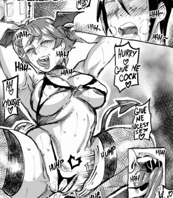 My Mom Turned Into A Succubus comic porn sex 003