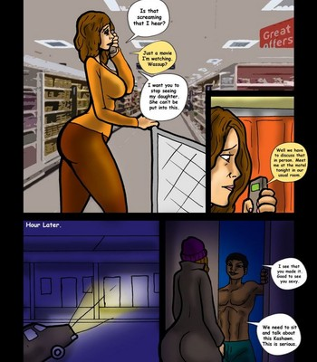 My Son's Black Friend – The Sleepover 7 comic porn sex 013