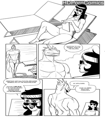 Porn Comics - Naked Negotiations