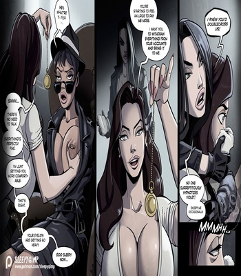 Nancy Templeton – Mystery Of The Vanished Heiress comic porn sex 017