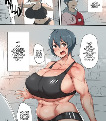 Natsumi x Ban comic porn sex 001