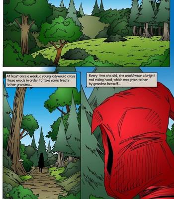 Porn Comics - Naughty Red Riding Hood