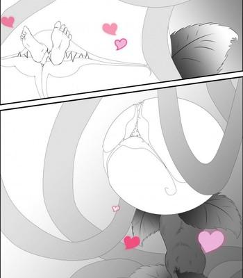 Neko And flower comic porn sex 008