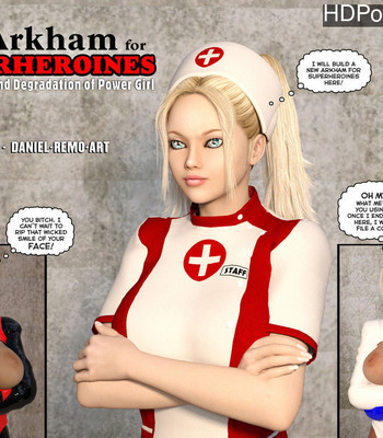Porn Comics - New Arkham For Superheroines 1 – Humiliation And Degradation Of Power Girl