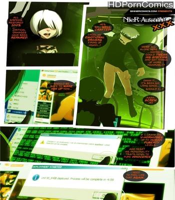 NieR Automata XXX comic porn thumbnail 001