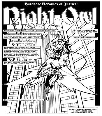 Night-Owl 2 free sex comic