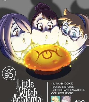 Porn Comics - Not So Little Witch Academia