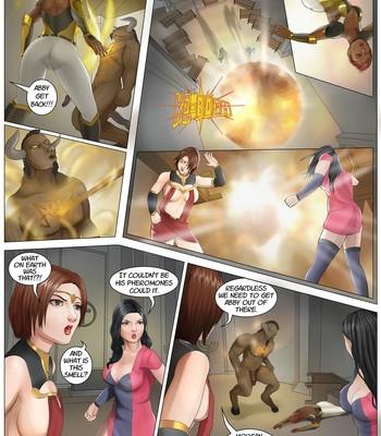 Nun & Bull comic porn sex 011