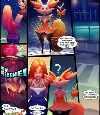 Porn Comics - Obscene Braixen